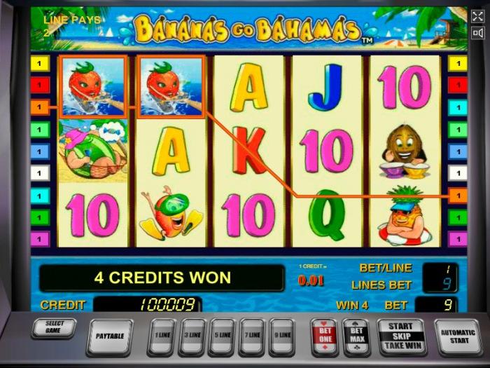 Описание слота «Bananas Go Bahamas» в казино Вавада