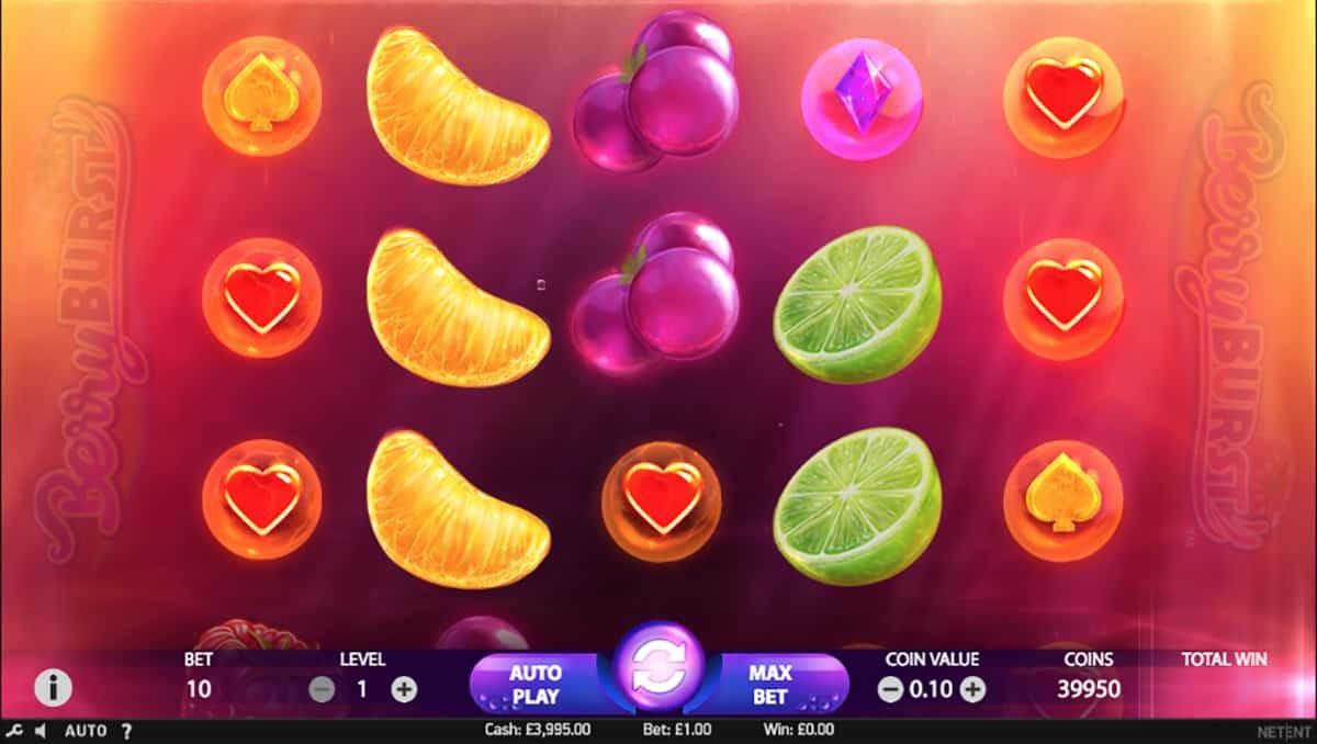 Игровой автомат «Berryburst Max» в казино Vavada