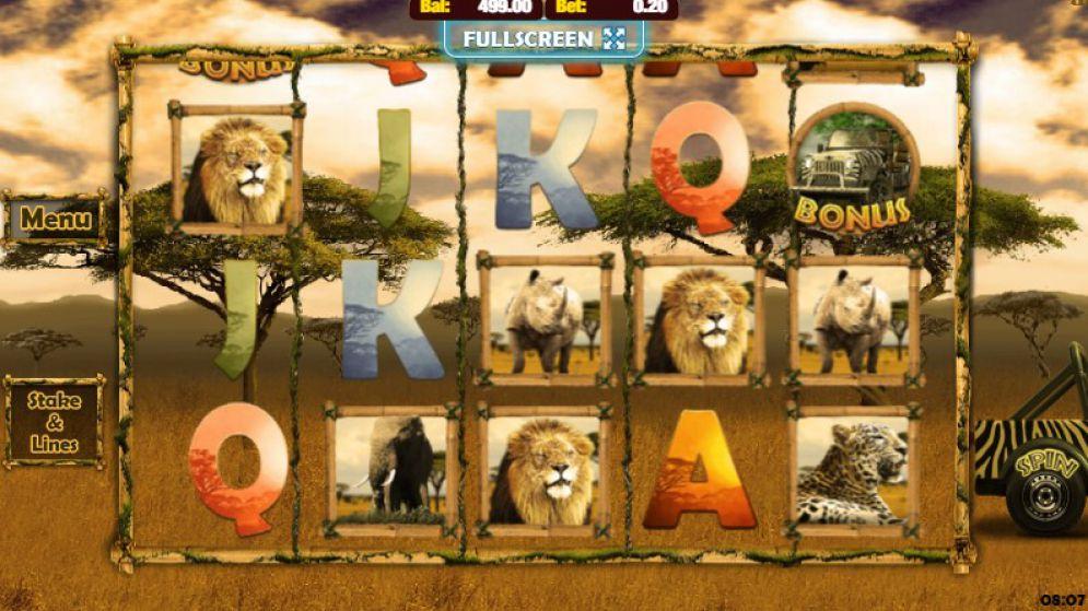 Аппараты «Big 5» — как играть в онлайн казино Фараон
