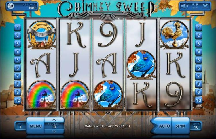 Игровой автомат «Chimney Sweep» и вход в казино Вулкан