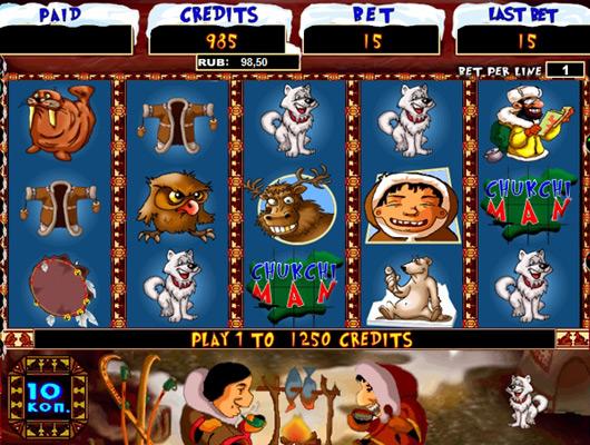 Игровые автоматы «Chukchi Man» в онлайн казино НоуМаниСлотс