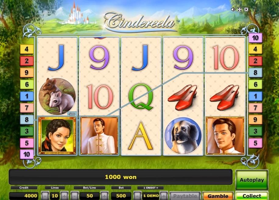 Сказочные слоты «Cindereela» в казино Play Fortuna