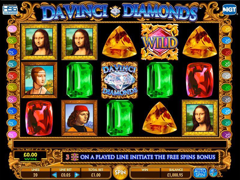 Официальный сайт Джойказино и слоты «Da Vinci Diamonds»