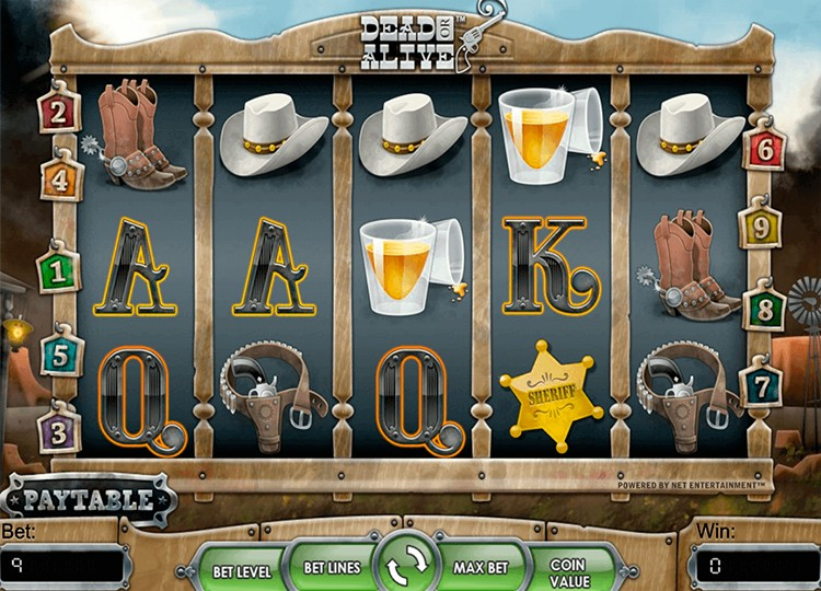 Игровой автомат «Dead or Alive» в казино Сол