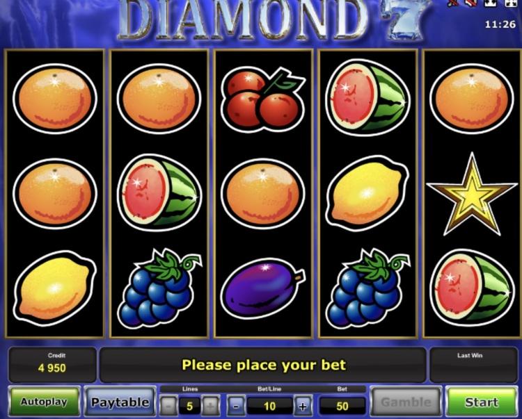 Аппараты «Diamond 7» — игровая классика в казино Буй