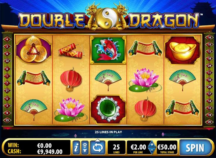 Красочный слот «Double Dragon» на мобильной версии казино Икс