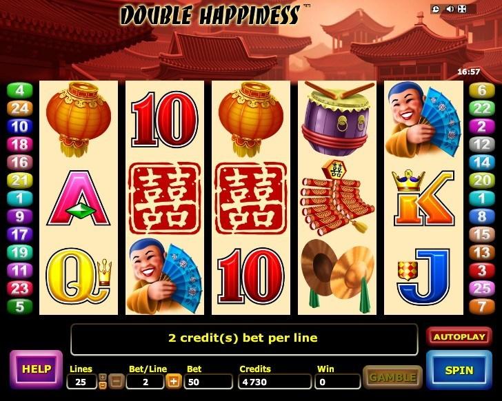 Двойная удача в игровом аппарате «Double Happiness» от онлайн казино Колумбус