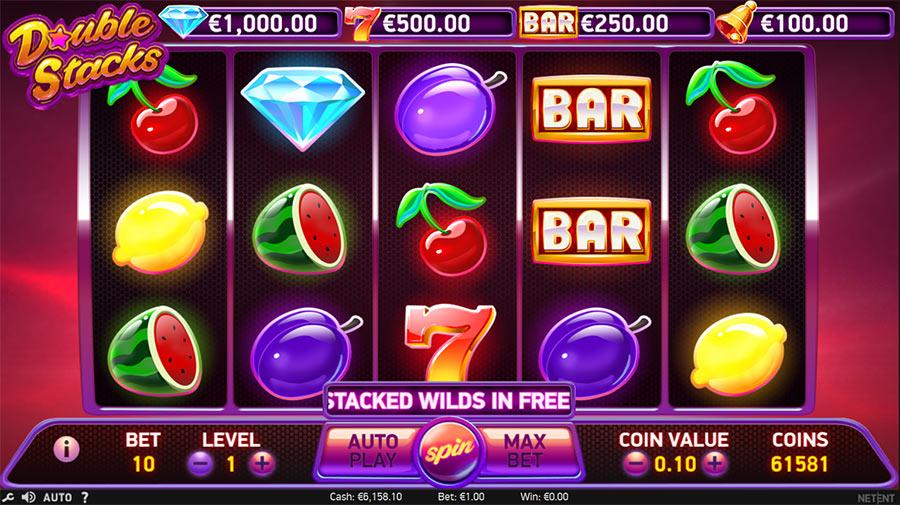 Онлайн казино на реальные деньги Sloterman и слоты «Double Stacks» (Двойные стеки)