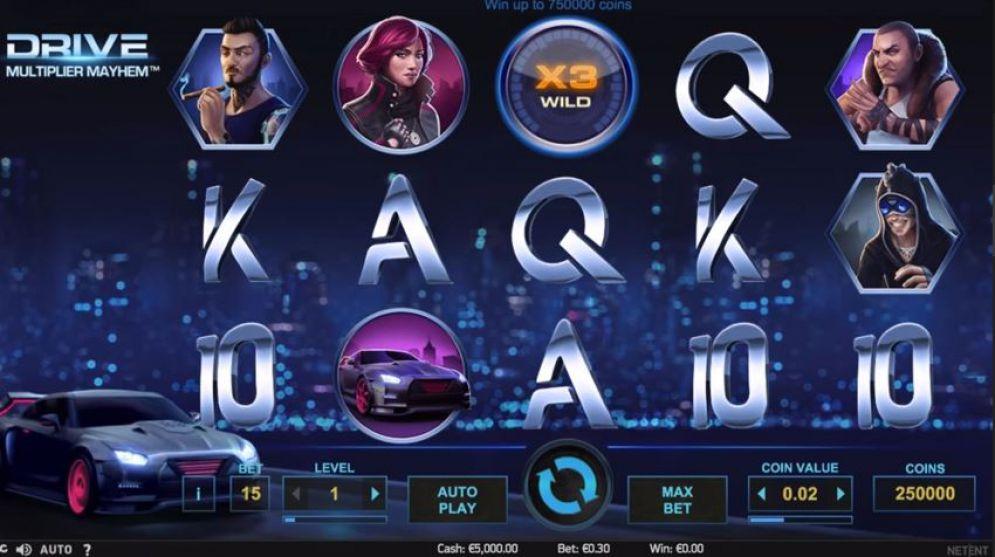 Игровой автомат на деньги «Drive» — скачаивайте в казино Вулкан