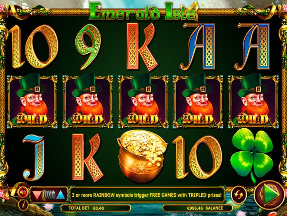 Игровой автомат «Emerald Isle» в казино Gmslots
