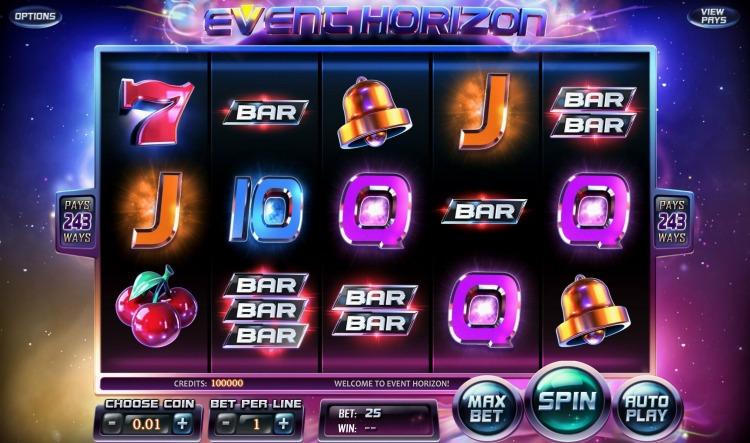 Игровой автомат «Event Horizon» в онлайн казино
