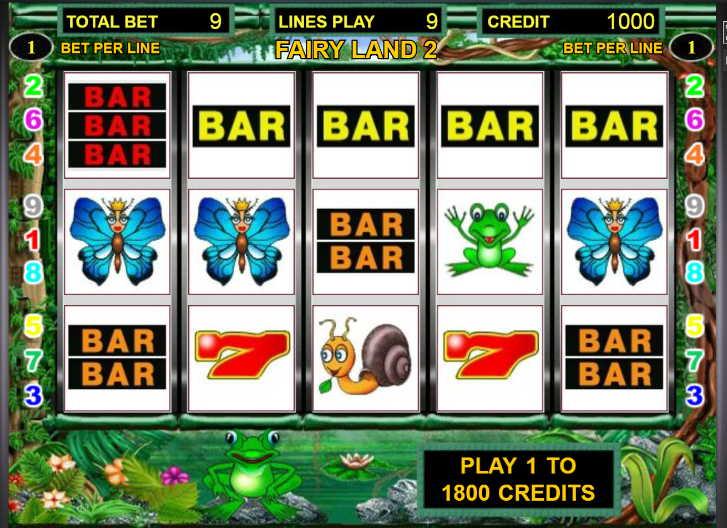Описание слота «Fairy Land 2» от казино Вавада