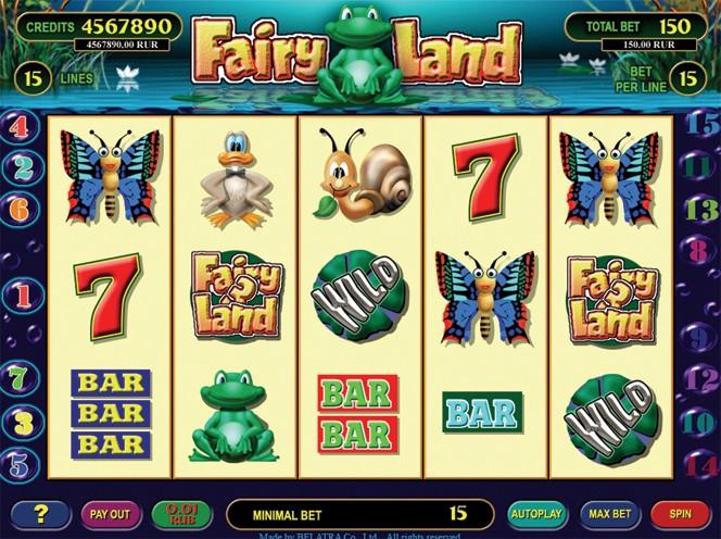 Описание слота «Fairy Land» — регистрация на официальном сайте казино Joycasino (Джойказино)