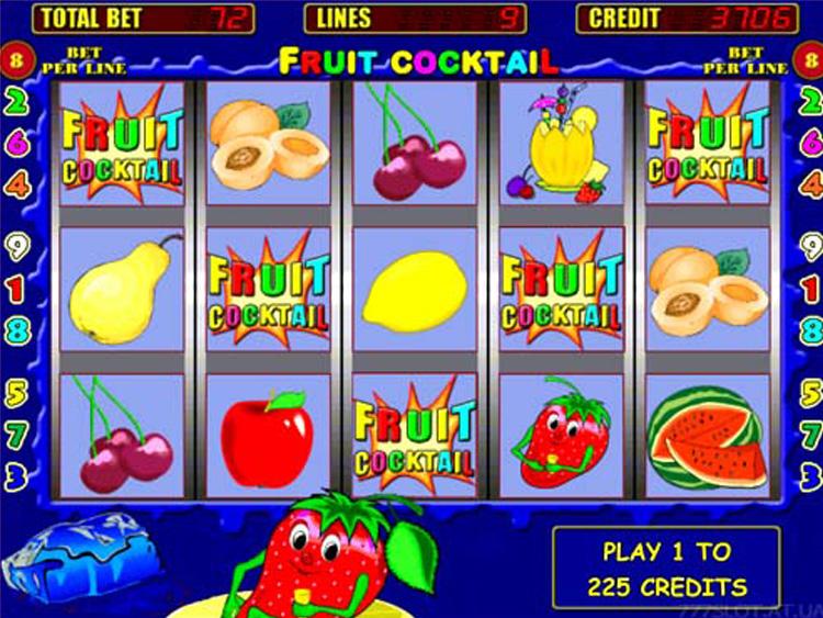 Игровые автоматы «Fruit Cocktail» на мобильной версии казино Эльдорадо