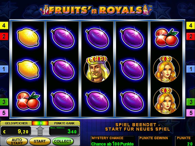 Слоты «Fruits and Royals Deluxe» в казино на деньги GMS Deluxe