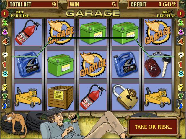 Игровые автоматы вулкан на деньги «Garage»