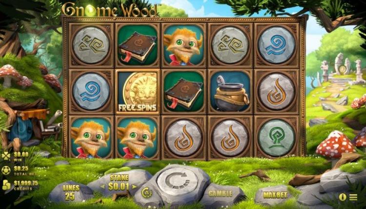 Аппараты «Gnome Wood» в лучшем онлайн-казино Космолот