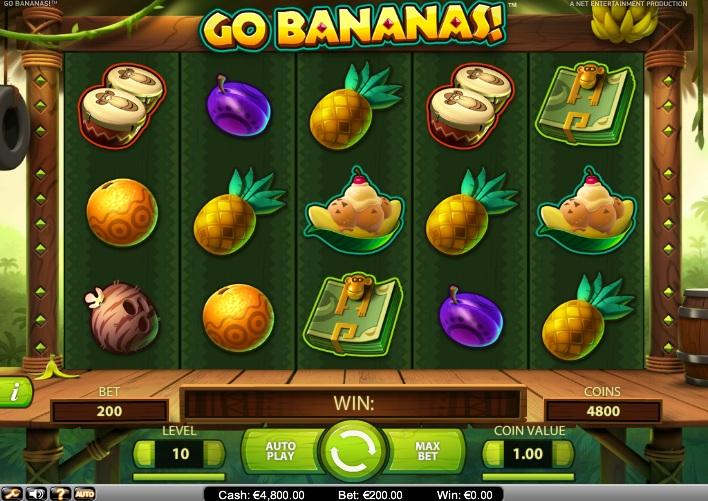 Онлайн слоты «Go Bananas» — играйте в клубе Вулкан