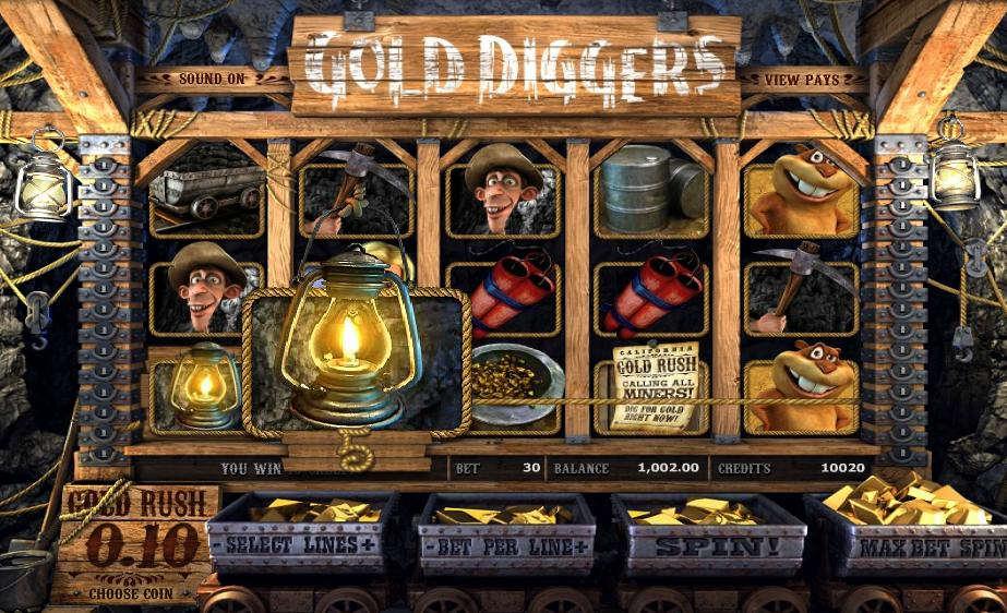 Описание слота «Gold Diggers» в казино Вулкан