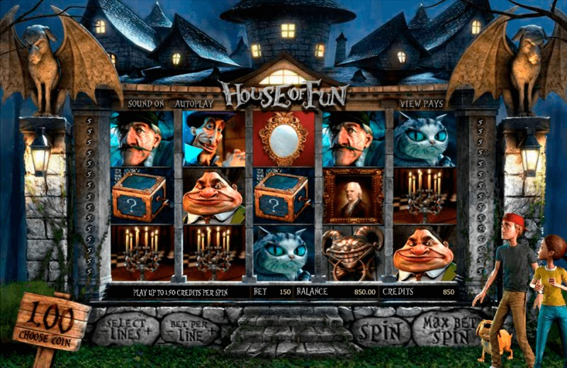 Игровой автомат «House of Fun» в казино Вулкан