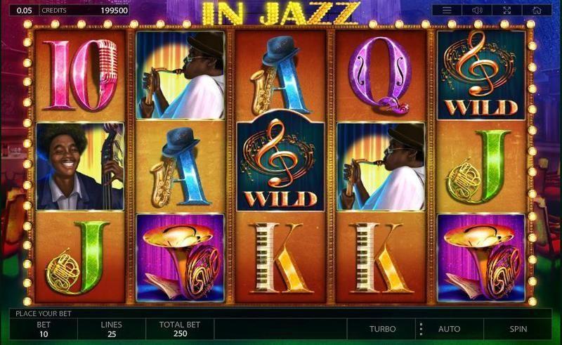 Слоты «In Jazz» — скачать на официальном сайте казино Адмирал
