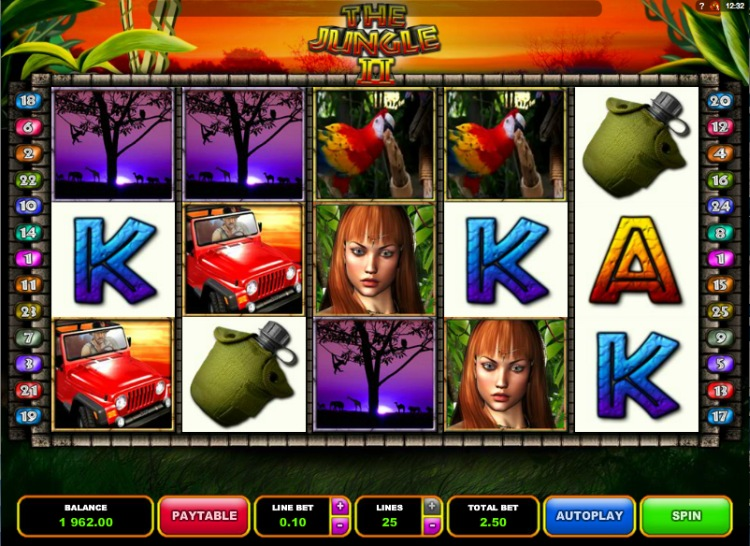 Онлайн слоты «Jungle 2» в казино Вулкан