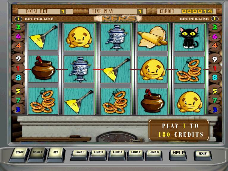 Описание слота «Keks» в онлайн казино Адмирал