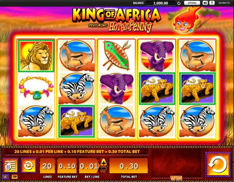 Игровой автомат «King Of Africa» от Фреш казино