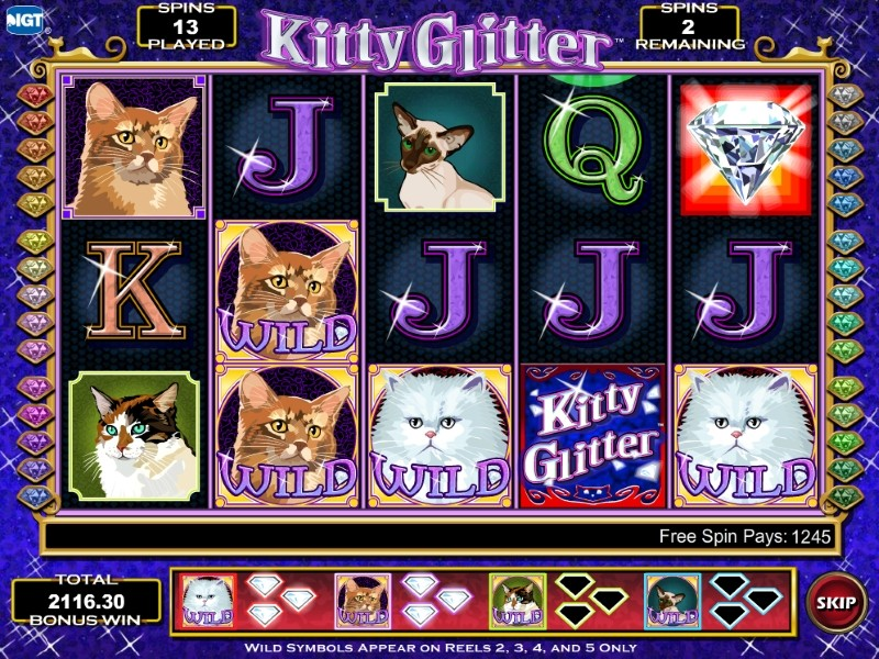 «Kitty Glitter» — игровые автоматы в казино Вулкан