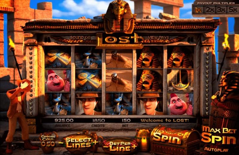 Игровой автомат «Lost» в казино Плей Фортуна