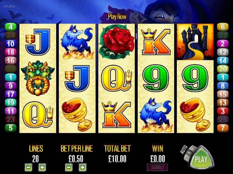 Граф Дракула на игровом слоте «Lucky Count» в Рокс казино