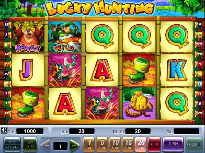 Официальный сайт Slot-V online Casino и аппараты «Lucky Hunting»