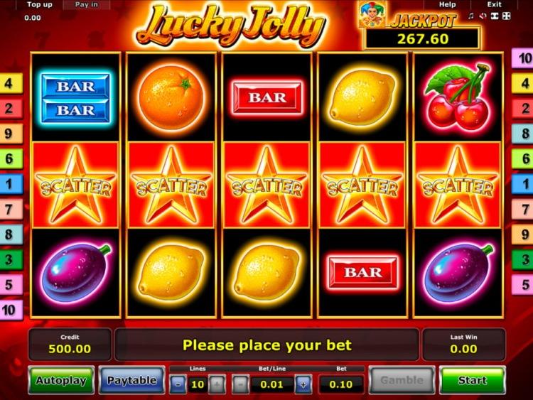 Скачать Азино 777 для игры на слотах «Lucky Jolly»