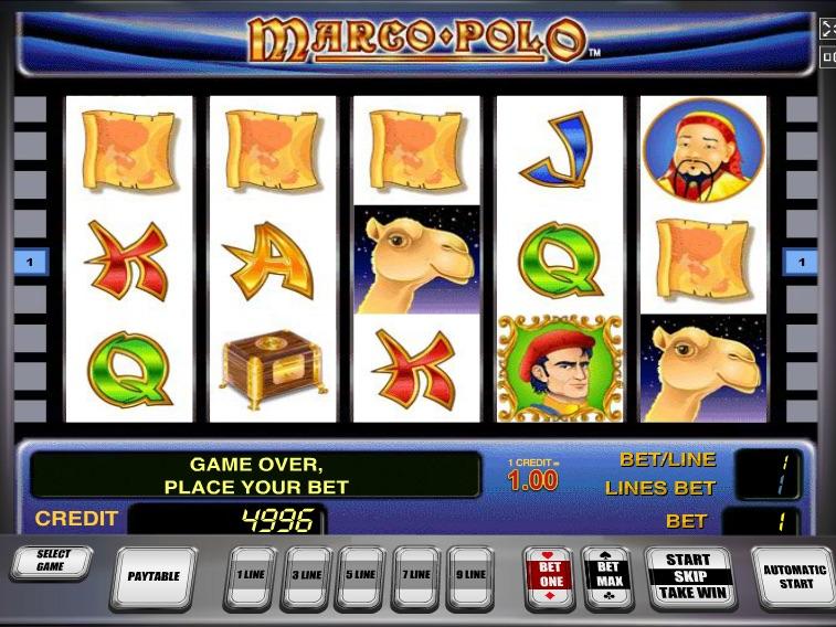 Описание слота «Marco Polo» от казино Вулкан