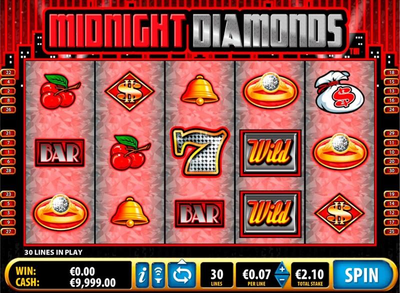 Скачать Вулкан казино и слоты «Midnight Diamonds»