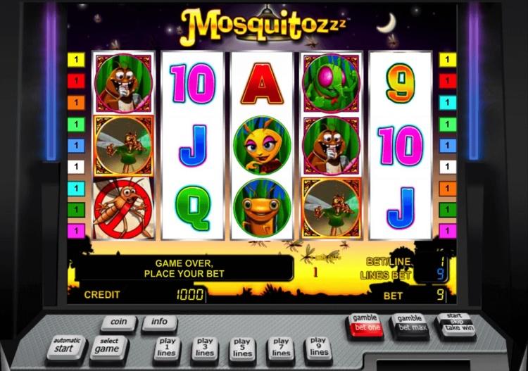 Описание слота «Mosquitozzz» от казино Playfortuna
