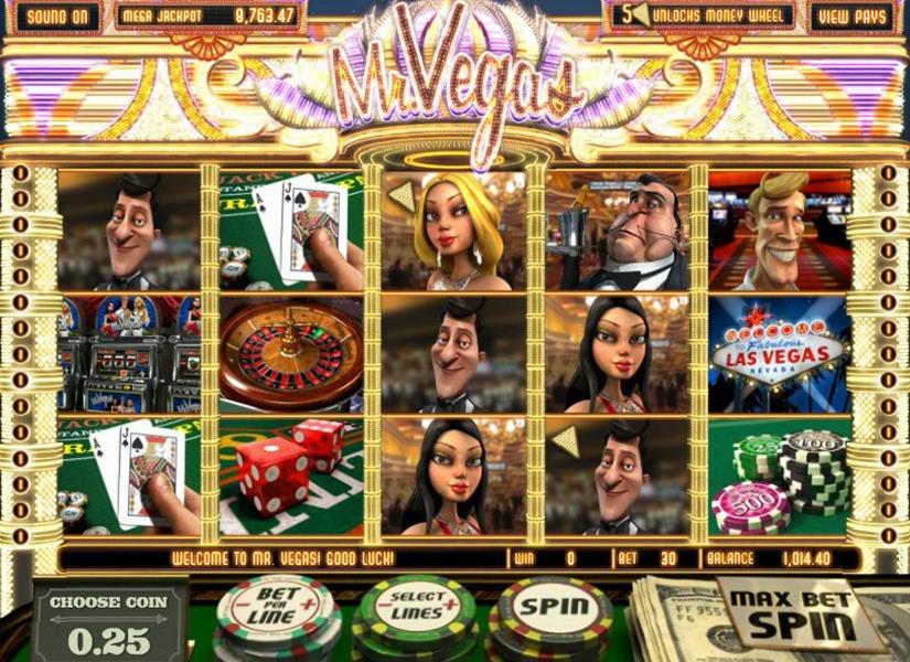 Казино Дрифт рекомендует слоты «Mr. Vegas»