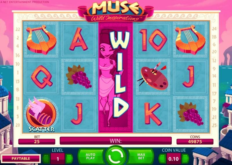 Онлайн слоты «Muse» — начни играть во Фреш Казино