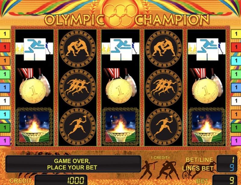 Вулкан Гранд представляет «Olympic Champion» — игровой автомат для победителей