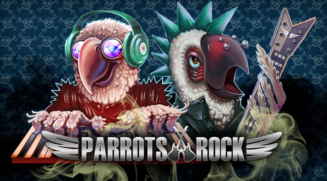 Игровые автоматы без регистрации «Parrots Rock»