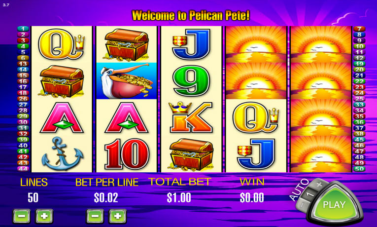 Игровые автоматы «Pelican Pete» в казино Эльдорадо
