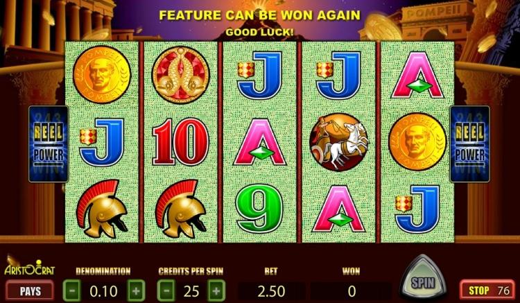 Игровой автомат «Pompeii» и актуальное зеркало казино Вулкан