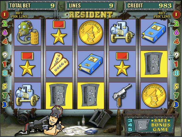 Описание слота «Resident» в казино Вулкан 24