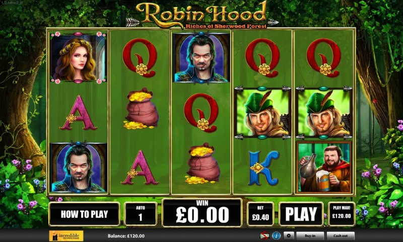 Игровые автоматы Вулкан «Robin Hood»