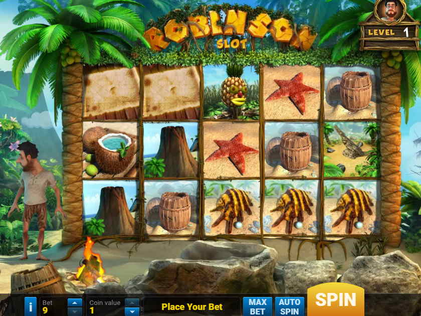 Играйте на слоте «Robinzon» в Eldorado casino