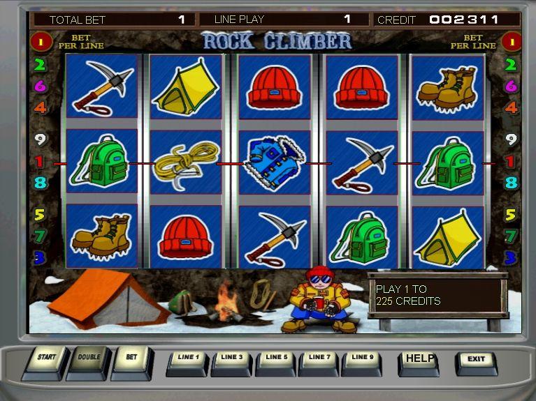Игровые слоты «Rock Climber» в Плей Фортуна казино онлайн