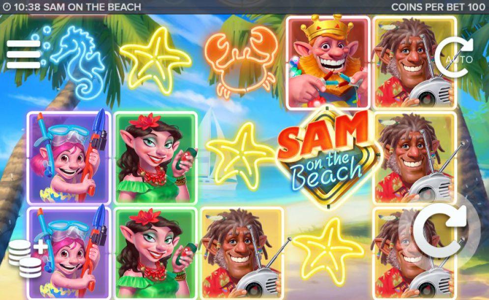 Слоты «Sam on the Beach» и официальный сайт Azimut 777 Casino