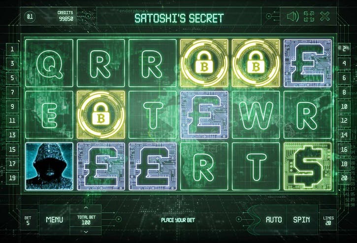 Игровой автомат «Satoshi's Secret» в казино Вулкан Престиж
