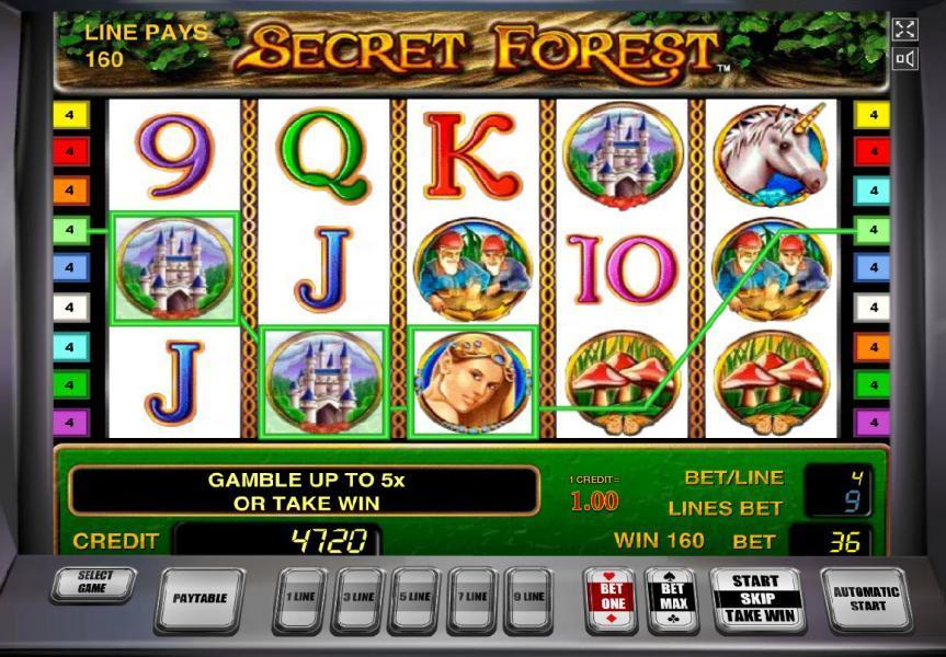 Описание слота «Secret Forest» от казино Вулкан Рояль