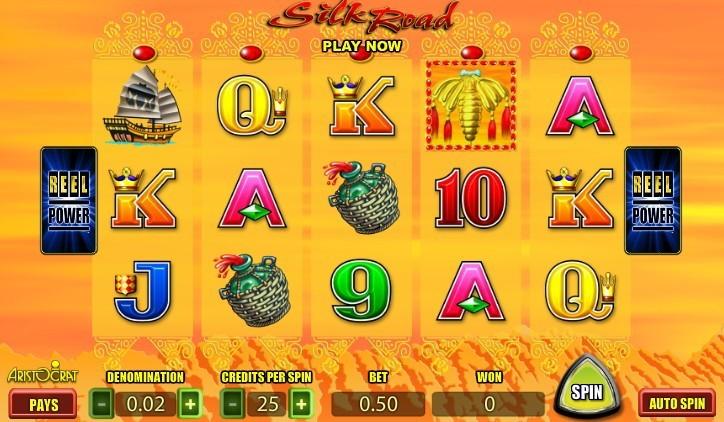 Слоты «Silk Road» в онлайн казино на деньги GMS Deluxe